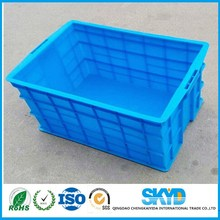 610 * 420 * 310 mm 100% virgin PP material fruit crate cheapest price Plastic Boxes