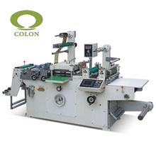FPL320D Rotary Flatbed Paper Label Die Cutting Slitting Rewinding Machine For Sale
