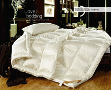 high thread count luxury 100% white goose down duvet
