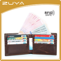 2016 hot sale leather mens wallet ,genuine leather mens wallet,rfid blocking wallet