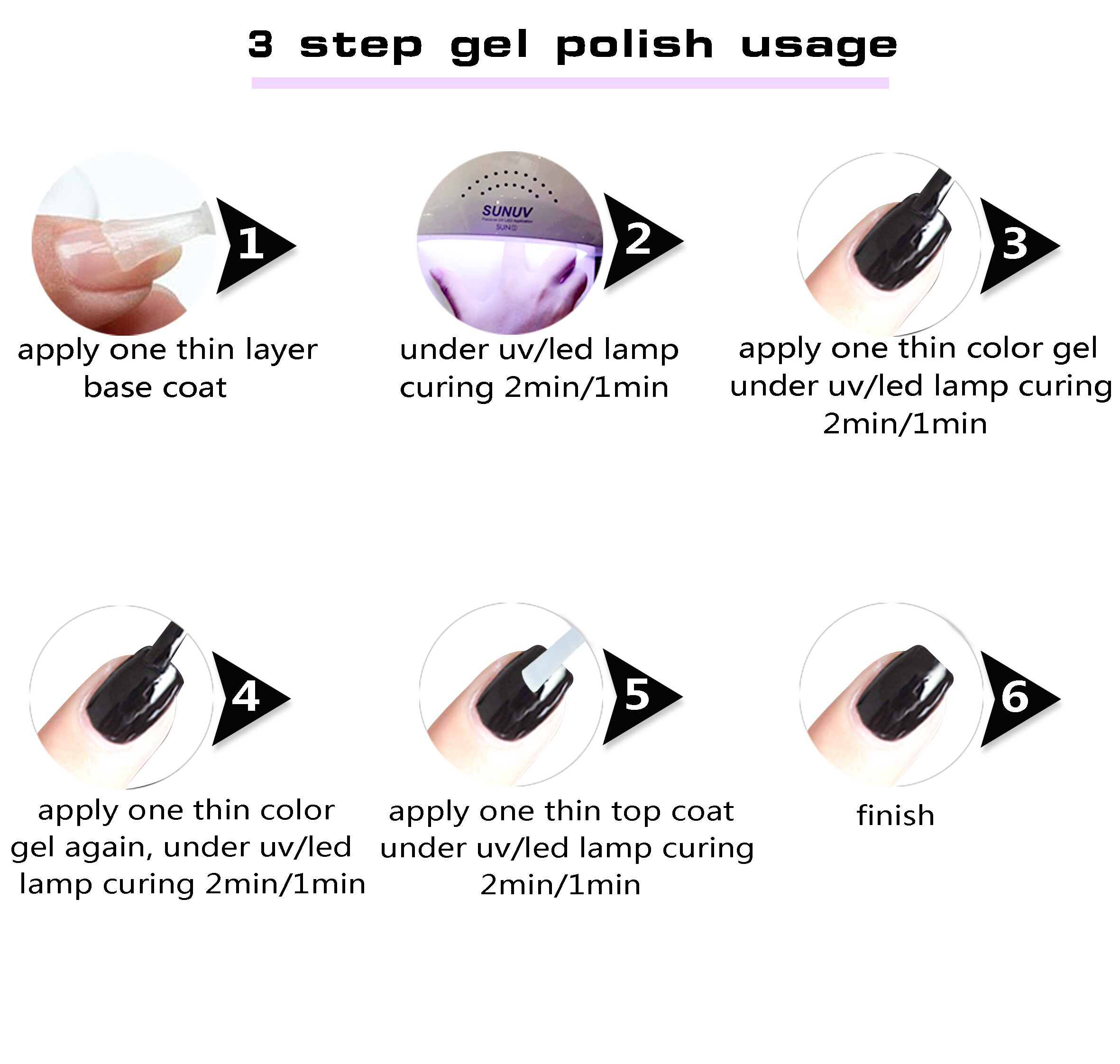 RONIKI Private Label Hot Sell Collection Color Eask Soak Off UV Gel Painting Polish
