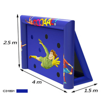 inflatable prices holiday living inflatables inflatable soccer game