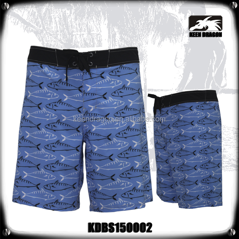 Fashion Design Mens Transparent Swimwear Bermuda Pants