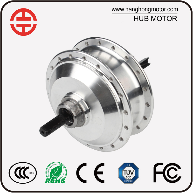 High Speed Nylon Wheel Spokes geared motor brushless motor for ebike