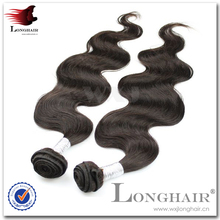 2015 body wave double weft hair 7a 100% peruvian virgin hair wholesale