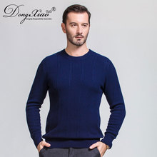 High Quality Pure Wool Fashion Plain Mens Pullover Knitted Sweater Design