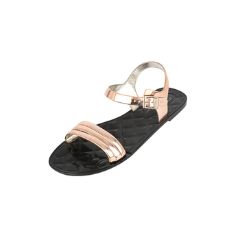 Lady Fancy Flat Footwear Casual Shoes Slide Flip Flop Palm Jelly Sandal Brazil Shoe Manufacturer Sandalias Mujer