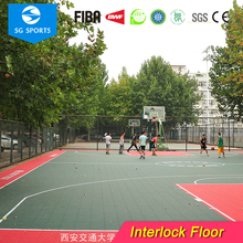 Synthetic Basketball Court Table Tennis Temporary Flooring