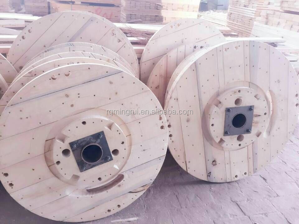 wooden cable drum fiber optic cable drum power cable reel