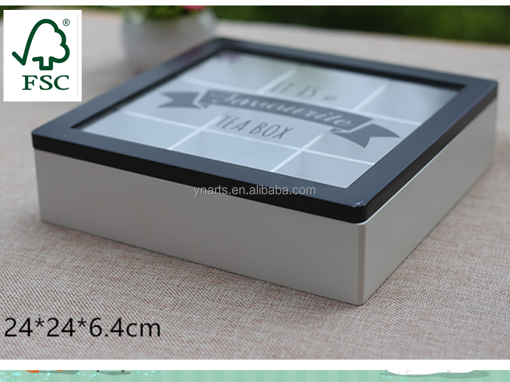 Top Quality nature wooden tea box with good price