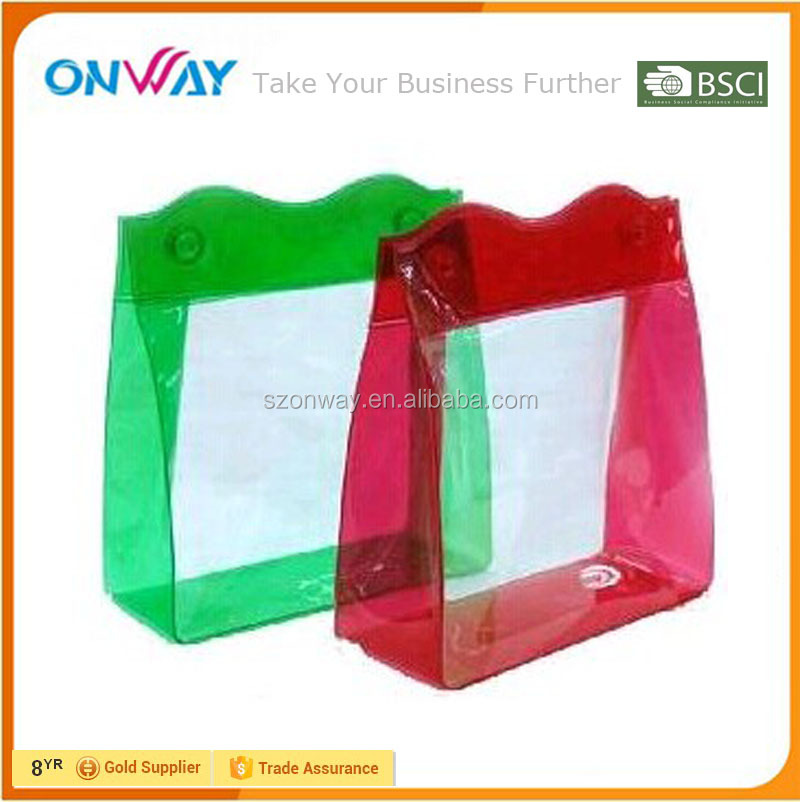 Shenzhen Onway manufacturer clear pvc voltage plastic various packaging bags