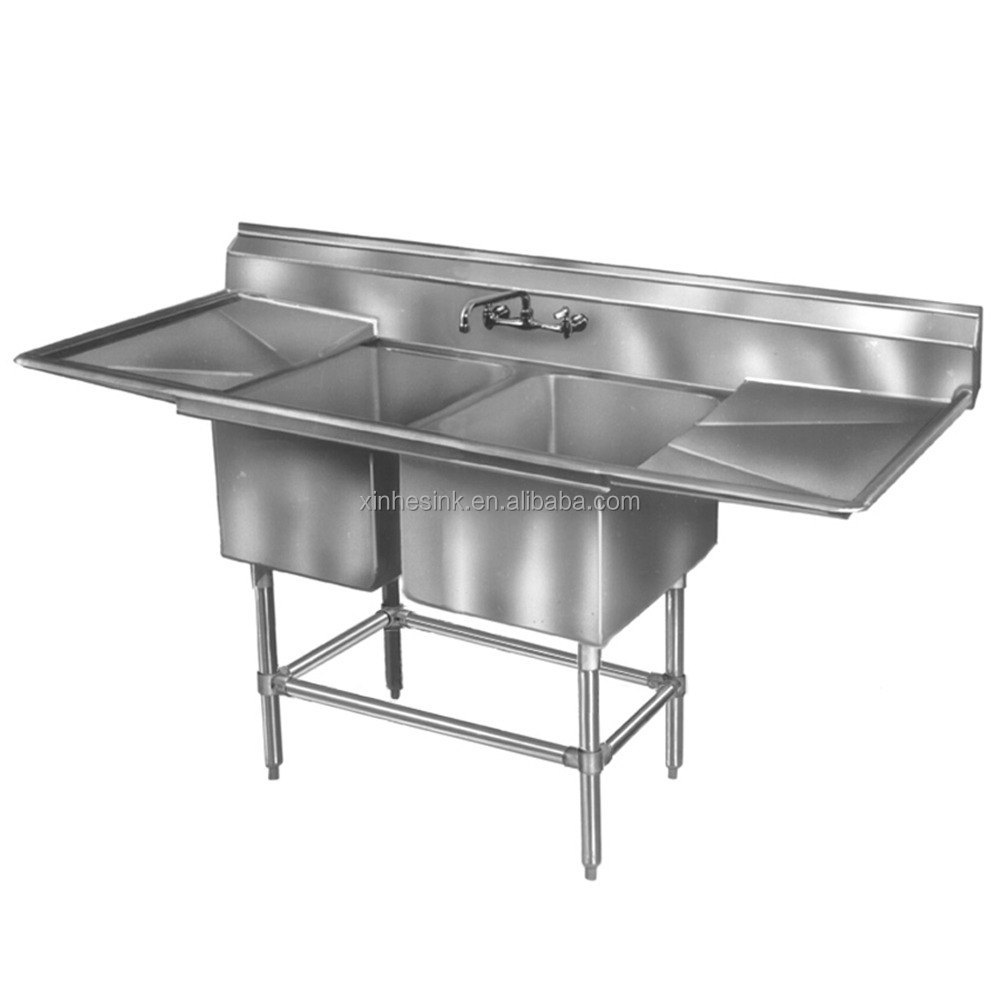 Free Standing Stainless Steel Sink : ... Sink,Free Standing Stainless Steel Kitchen Sink,Dishwashing Product on