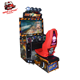 Coin operated car racing arcade game machine, driving car video games
