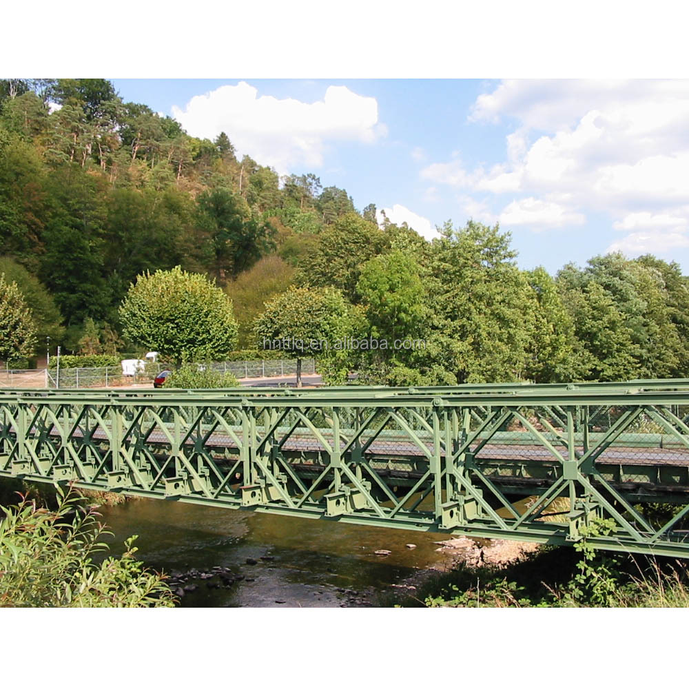 double lanes single storey Modern Bailey bridges/Multi-span Bridges/Bailey Suspension Bridge