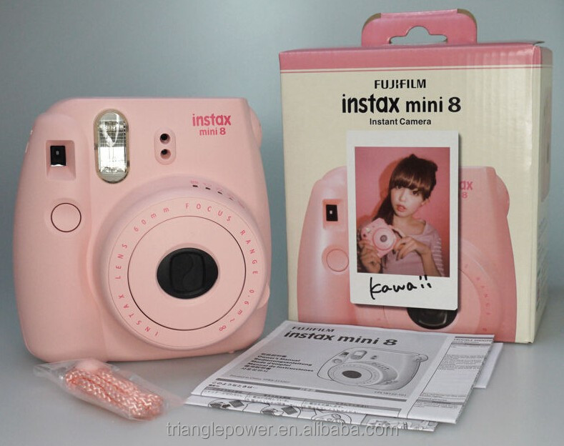 wholesale fujifilm instax mini 8 pink color polaroid instant camera buy fujifilm instax mini 8. Black Bedroom Furniture Sets. Home Design Ideas