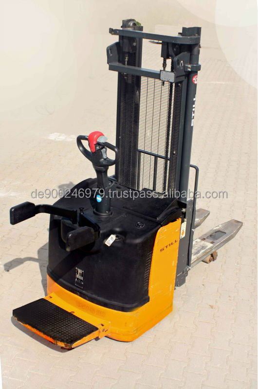 Electric Reach Stacker - Electric Forklift Truck