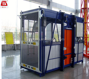 Excellent Performance! Hot Selling SC100 Single-cage Construction Elevator