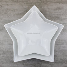 Star Shaped Salad Plate in 10.5 inch 8 inch