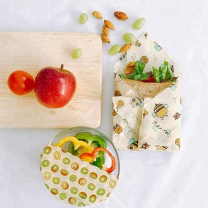 Eco Friendly Reusable beeswax Wraps Sustainable Plastic Free Storage