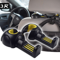 Car back seat organizer holder, auto seat headrest clothes jackets suits holder, car coat hanger