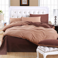 wholesale Top quality cotton/100%polyester brushed duvet cover bedding set