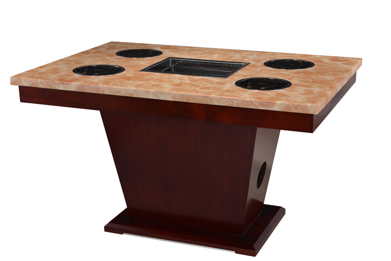 how to build a korean bbq table