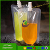 Standup Reusable Juice Food Spout Pouches