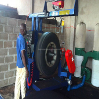 lube oil recycling the latest environmental protection waste tyre refinery equipment