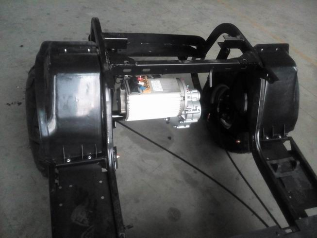 chassis for electric vehicle