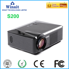 Portable Home Theater 1080P LED Projectors LED-S200 LED 2500 Lumens Mini Projector