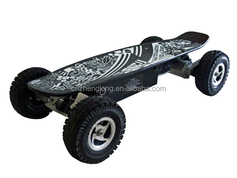 Cheap off road electric skateboard 800w remote control electric skate board
