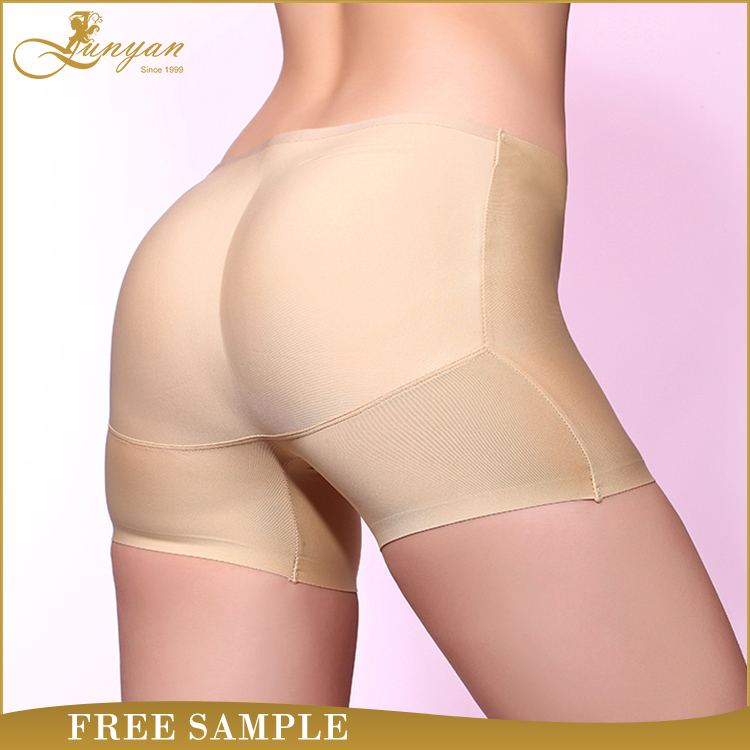 2016 High Quality New Model Ladies Seamless Slim Women Sexy Underwear Push Up Hip Buttocks Padded Panties