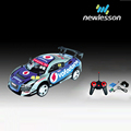 1:18 4 channel pvc car shell racing king radio control model with drift