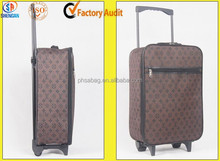 Travel Foldable Cabin Case Hand Luggage Wheeled Suitcase Flight Bag