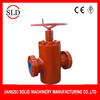 API 6A Non-rising stem manual slab FC gate valve for oilfield