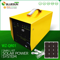 cabin solar kit 20W 12V solar portable system for home