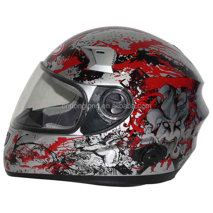 Adults off road helmet with bluetooth---ECE/DOT Certification Approved