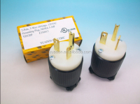 UL/CUL Receptacle UL approval NEMA right angle 3 pin plug