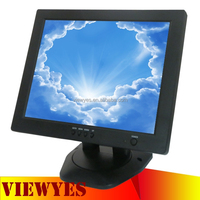 New 12.1 inch LCD Monitor Desktop PC Monitor Small VGA Input Monitor
