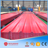 China Factory Prepainted corrugated metal tinted roofing sheet