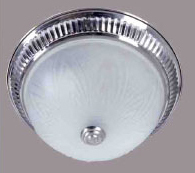 modern iron base glass cover flush mount Ceiling lihgt