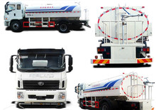 (Diesel Engine) Foton Sewer suction tanker truck dongfeng 5000 liters sewage sucking truck for sale