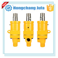 Custom rotary coupling high pressure pipe rotating swivel joint for water