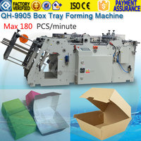 Automatic paper paper board food pail forming making machine price,