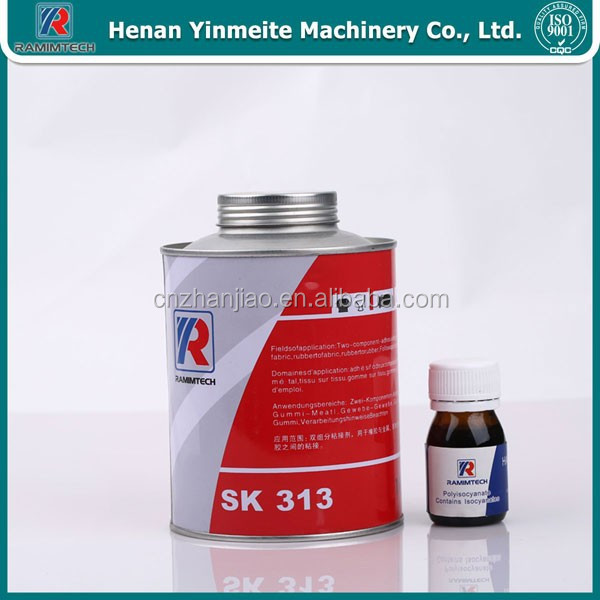 fast drying material rubber adhesive for conveyor belt
