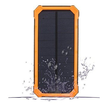 8000mah Waterproof Solar Power Bank Portable mobile Charger for mobile phone