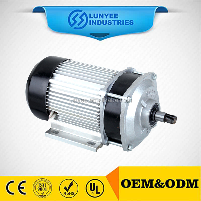 1kw 48 volt brushless bldc motor for electric vehicle