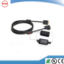 Gold plated/nickelPlated HD15pin 3+6 VGA to VGA Cable for Projector,LCD 1.5m,1.8m,2m,3m,5m,10m,20m,30m,40m