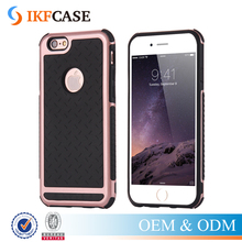 Rugged TPU Hard Plastic Hybrid Dual Heavy Duty Armor Phone Case For iPhone 6 Plus 6S Plus