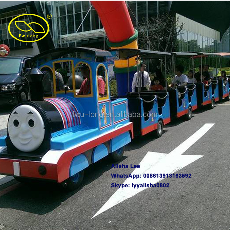 Exclusive Manufacturer Thomas Type Electric Mini Train Shopping Mall Tourist Road Train For Kids And Adults